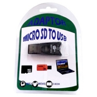 ADATTATORE MICRO SD USB BLACK
