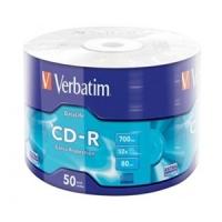 CD - R Extra Protection Wrap, Verbatim - 43787 - ( Eco-Pack 50pz. )