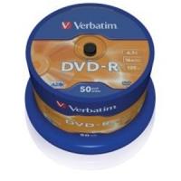 DVD - R Matt Silver Spindle, Verbatim - 43548 ( CakeBox 50pz. )