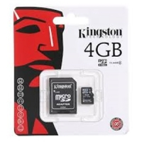 Memory Card Micro SD 4GB C4 SDC4/4GB, Kingston