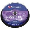 DVD+R Double Layer 8x 8.5GB - 43666 - ( CakeBok 10pz.